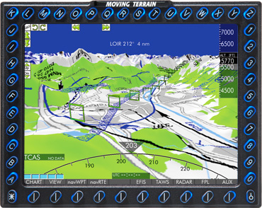 Terrain EFIS: Advanced Flight Guidance