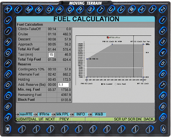MT BlitzPlan: Fuel Calculation